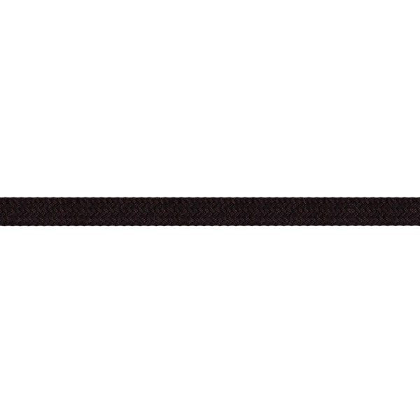10mm – Black – Worsted – Flat Braid