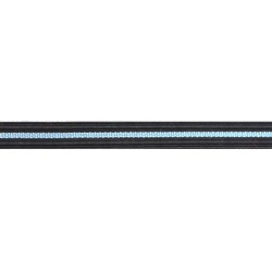14mm - Flying Officer - Black with blue stripe - Royal Air Force Rank Braid