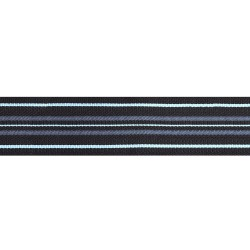 45mm - Squadron Leader - Black with blue stripe - Royal Air Force Rank Braid