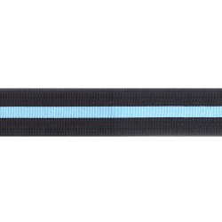 48mm - Air Commodore - Black with blue stripe - Royal Air Force Rank Braid