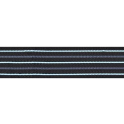 51mm - Wing Commander - Black With Blue Stripe - Royal Air Force Rank Braid