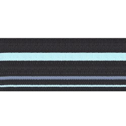 65mm - Air Vice Marshal - Black with blue stripe - Royal Air Force Rank Braid