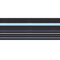 85mm - Air Marshal - Black with blue stripe - Royal Air Force Rank Braid