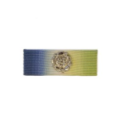 32mm Atlantic Star Medal Ribbon Slider with Rosette