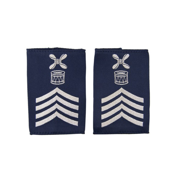 RAF Chief Technician Drum Major - Slider Epaulette - Royal Air Force - Royal Air Force Badge