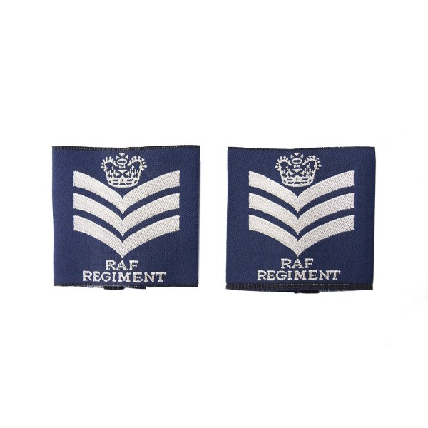 Flight Sergeant - Slider Epaulette - Royal Air Force - Royal Air Force Badge