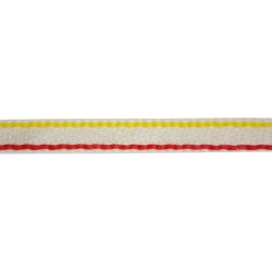 13mm - 6th Regiment Worsted White Regimental lace - R036