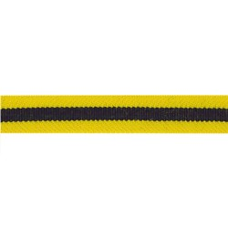 13mm - Regimental Lace Yellow – Worsted - R048