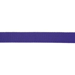 21mm – Lavender Purple – Polypropylene – Double Plain Weave - Webbing