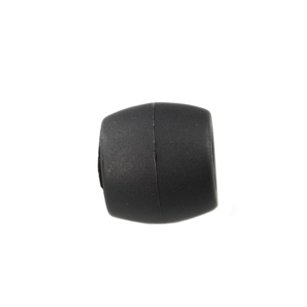 Friction Toggle Black Plastic Buckle Fitting