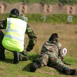 Suffolk ACF cadets on training camp