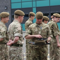 CCF Passing Out Parade