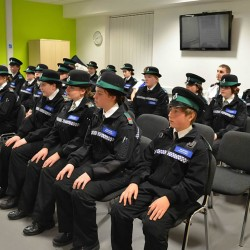 Graduation day for young police cadets